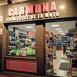 Foto de portada Carmona, la tienda de la Moto